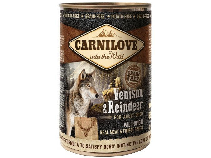 Wild konz Meat Venison & Reindeer 400g