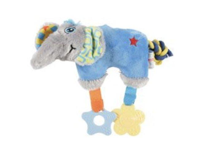 slon Color modra 20cm