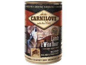 Wild konz Meat Lamb & Wild Boar 400g