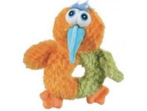 ptak love oranzova 18cm