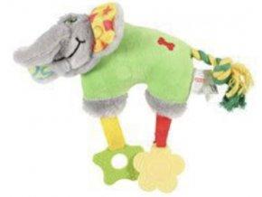 slon Color zelena 20cm