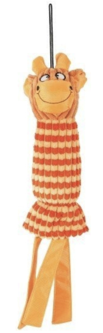 GLORIA VELVET plyš oranžová 45cm Zolux
