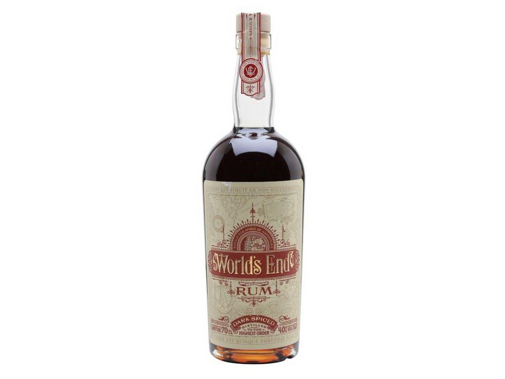 vyr 330Worlds End Rum Dark Spiced Spirit