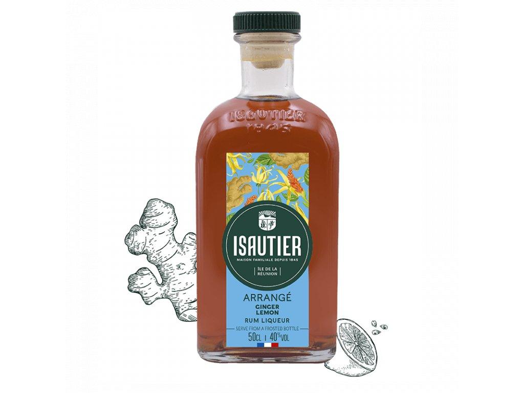 isautier arrange gingembre citron rum 05l