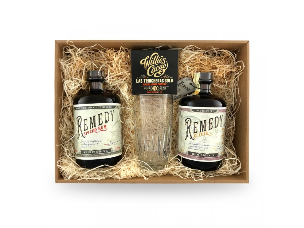 Remedy spiced elixir box A