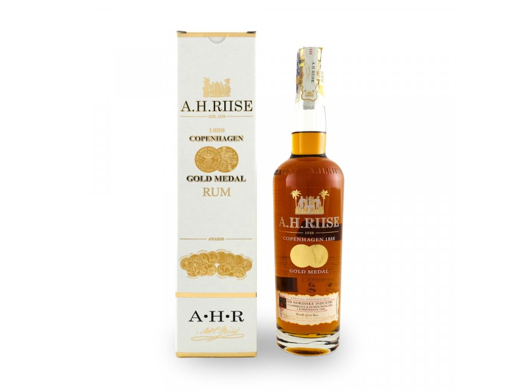 AHRiise Gold medal a