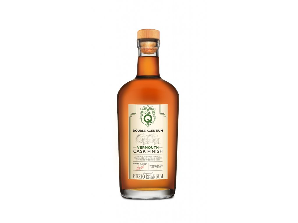 Don Q Double Cask Vermouth Finish PNG foto