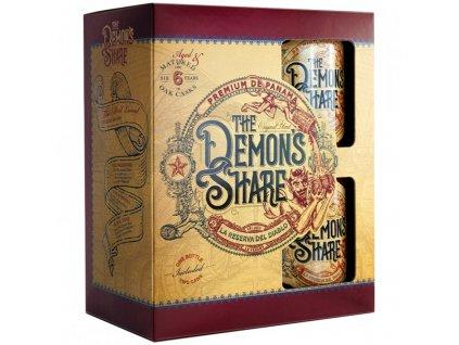 demon s share rum 0 7 l 40 2 plechacky darkove baleni
