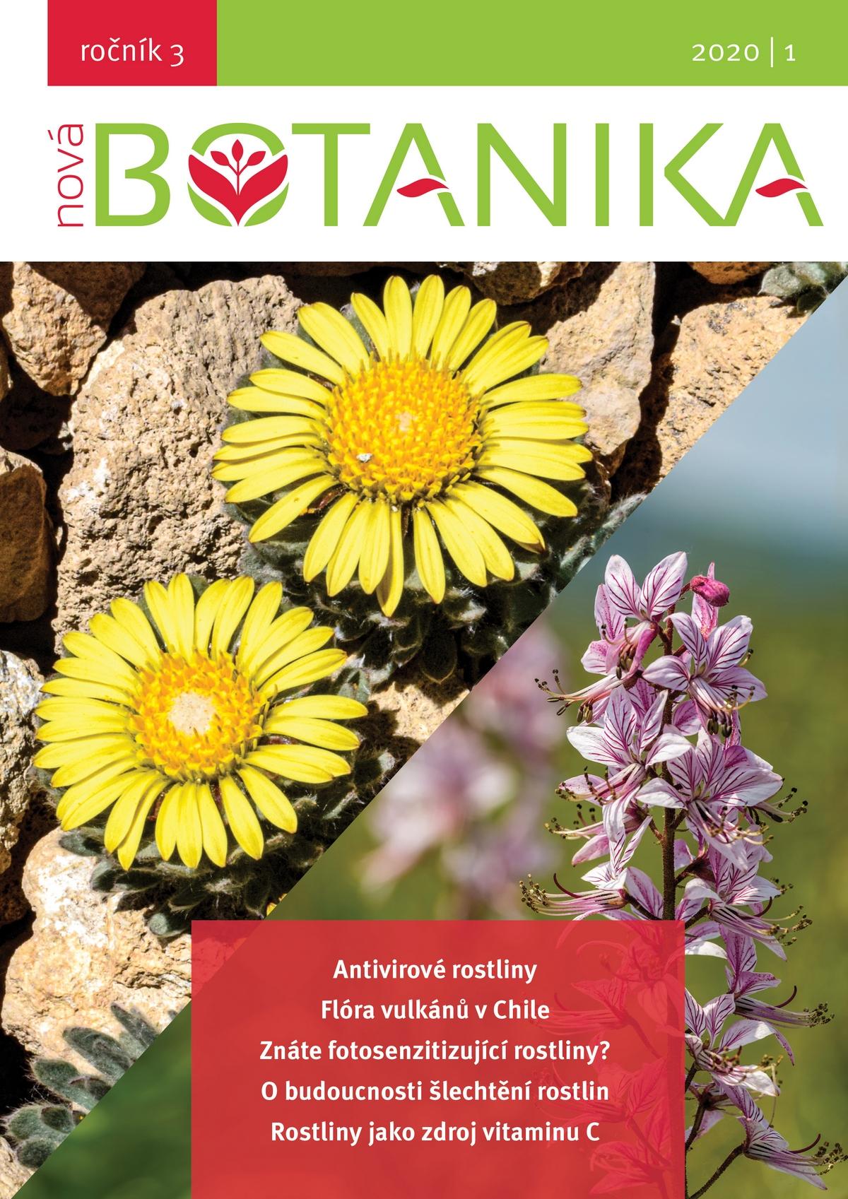 Obsah nového čísla Nové Botaniky 2020/1