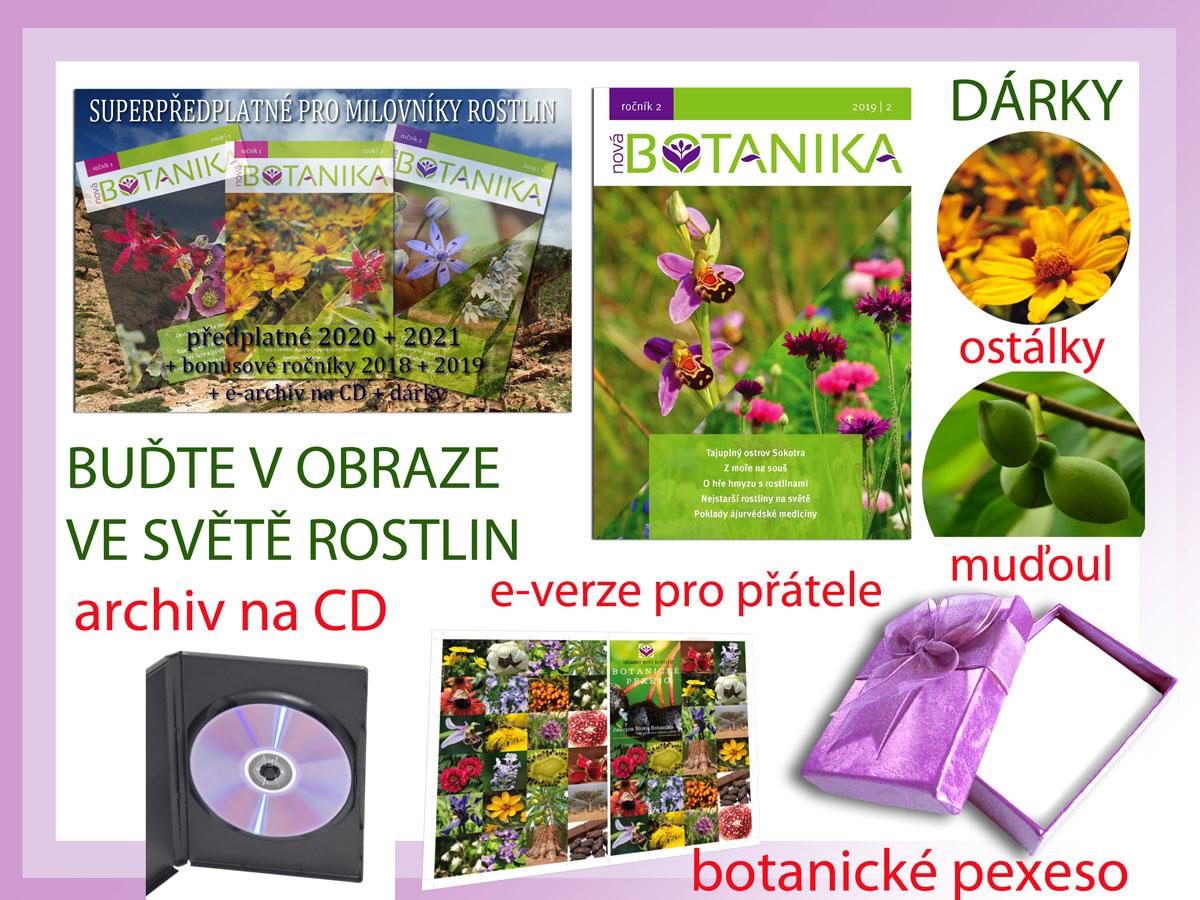 Nové podzimní číslo Nové Botaniky 2019/2