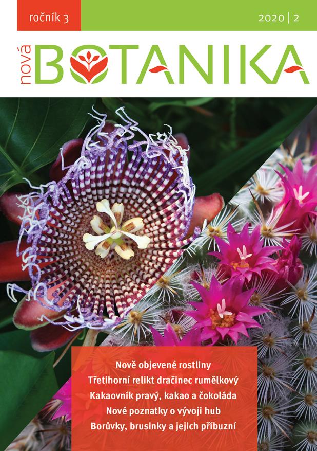 Právě vyšlo nové číslo Nové Botaniky