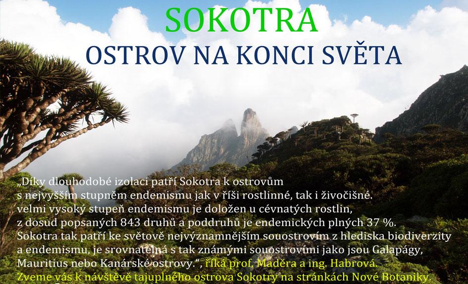 Tajuplný ostrov Sokotra
