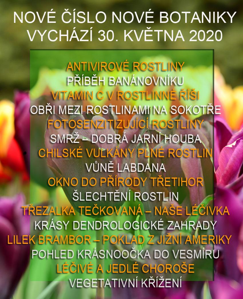 Nové číslo Nové Botaniky