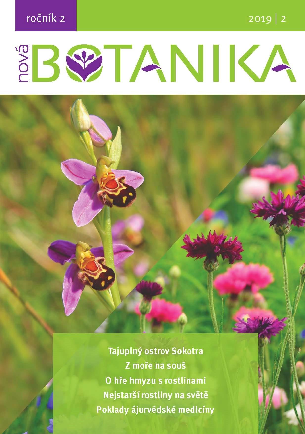 Časopis Nová Botanika. Vše pro milovníky rostlin
