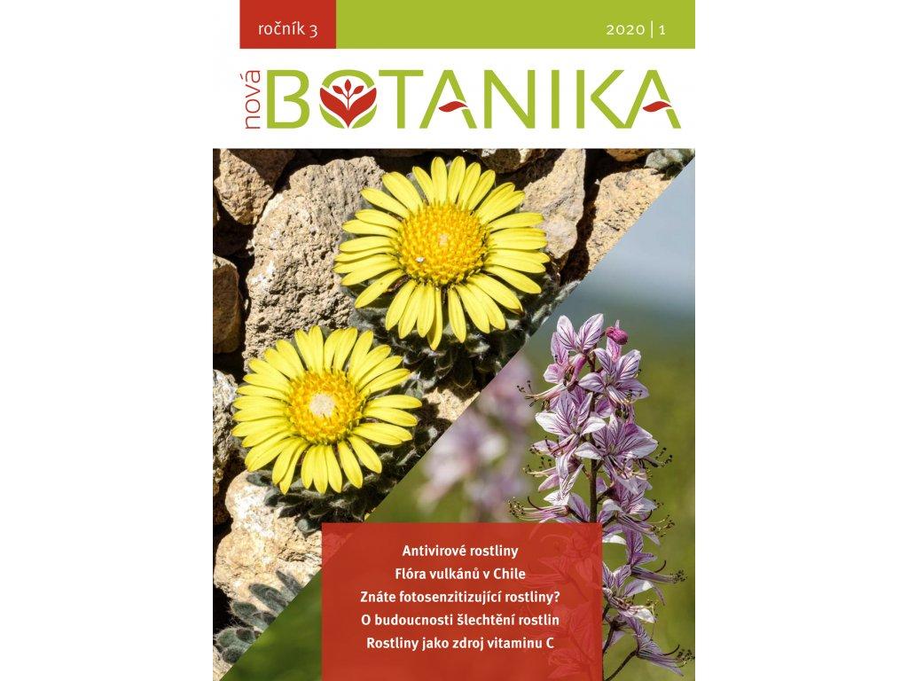 Nova Botanika NB 2020 1 titulka zmenš