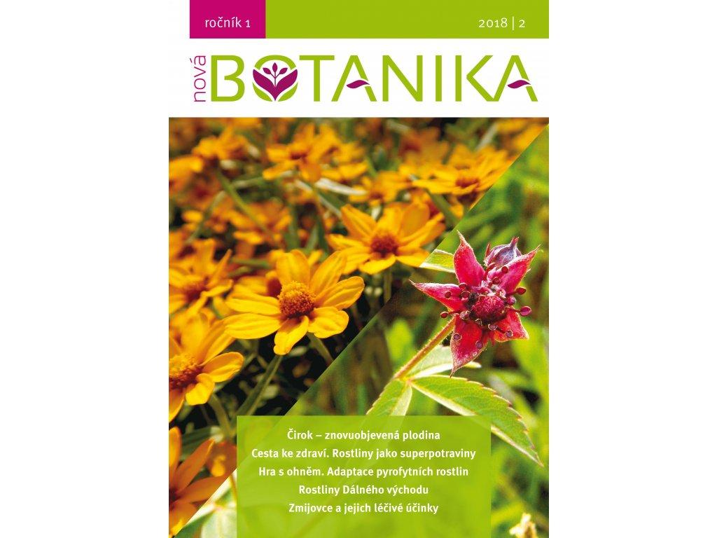 Nova Botanika obalka titulni