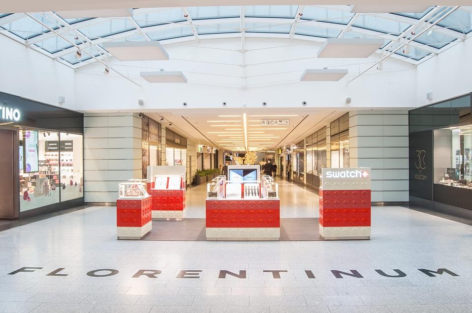 Swatch otevřel pop-up butik v centru Prahy!