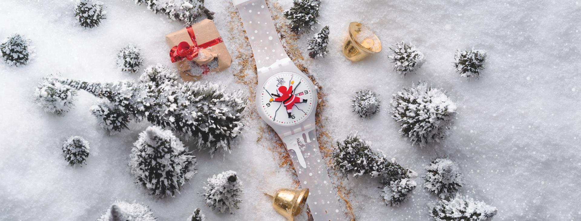 Vánoční kolekce Swatch