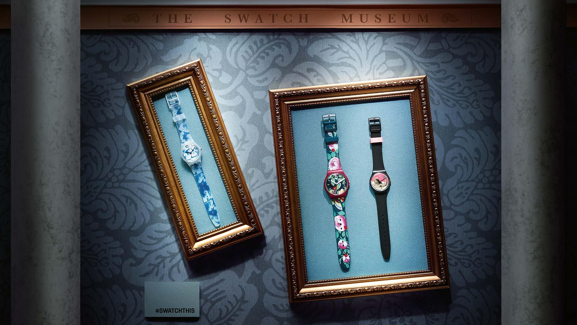 Historie značky Swatch