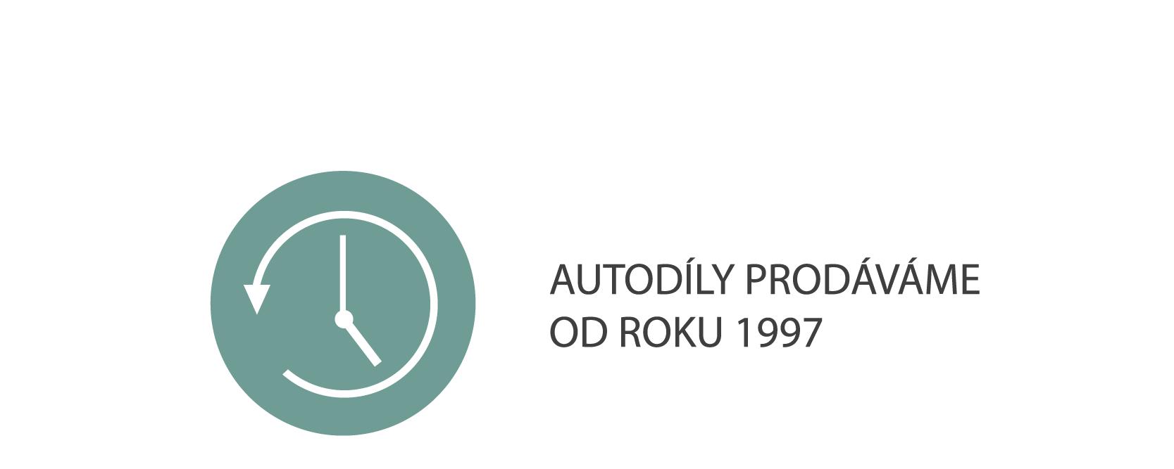 Autodíly prodáváme od roku 1997