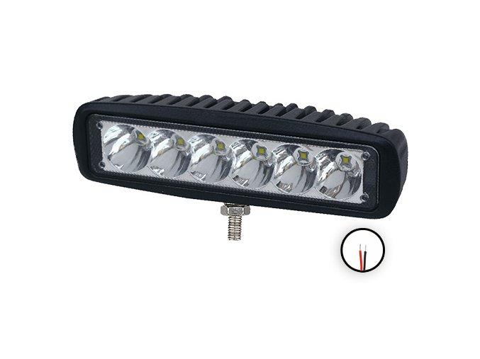 Led pracovní světlomet - 1260 lumenů, 9-33v + 0,35m kabel