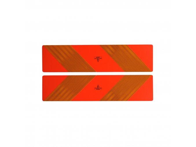 Reflexní cedule tahačová EHK70 pár 1mm
