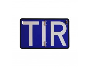 Cedule reflexní TIR sklopná