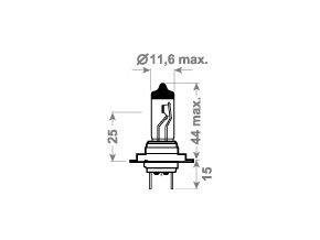 24V H7 70W PX26d  TRIFA