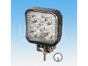 Led pracovní světlomet - 800 lumenů, 9-33v + 0,35 m kabel