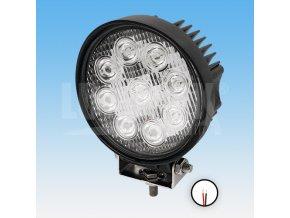 Led pracovní světlomet - 1755 lumenů, 9-33v + 0,35 m kabel