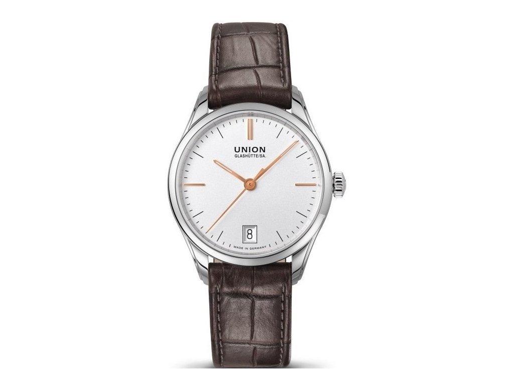 Union Glashütte hodinky D011.207.16.031.01