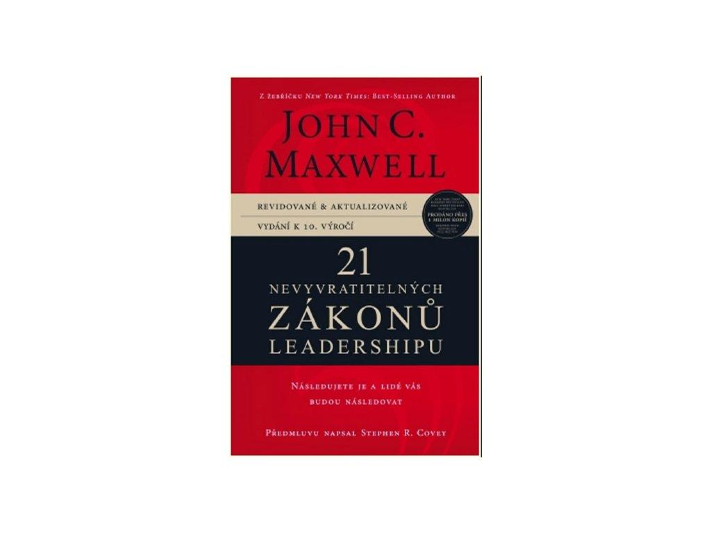 21 nevyvratitelnych zakonu leadershipu Maxwell