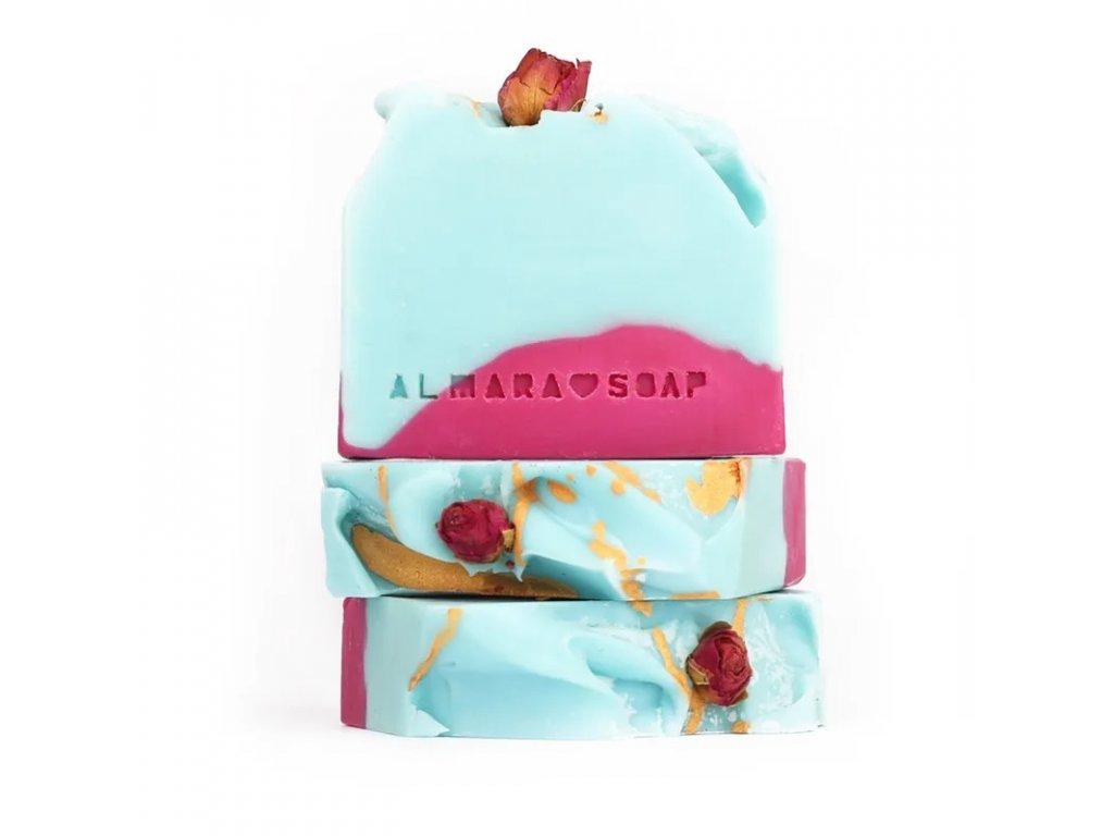 Designové ručně vyrobené mýdlo ALMARA SOAP WILD ROSE