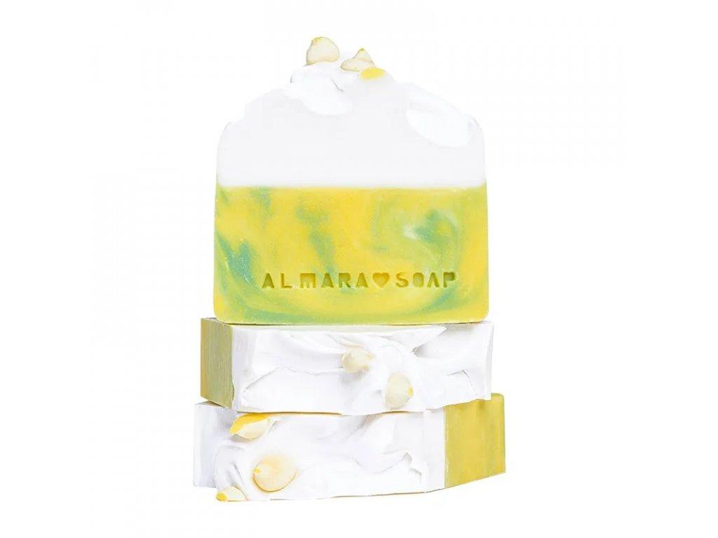 Designové ručně vyrobené mýdlo ALMARA SOAP BITTER LEMON
