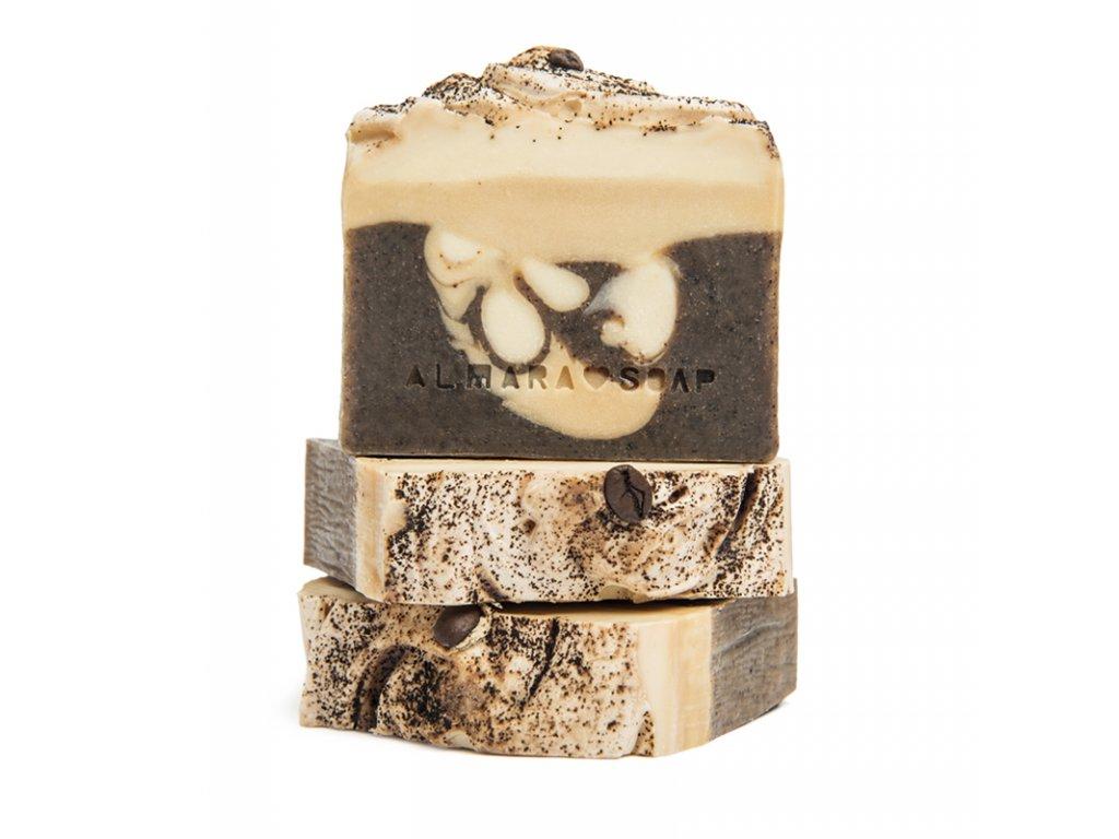 Designové ručně vyrobené mýdlo ALMARA SOAP COFFEE TIME