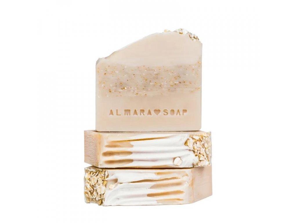 Přírodní ručně vyrobené mýdlo ALMARASOAP SWEET MILK