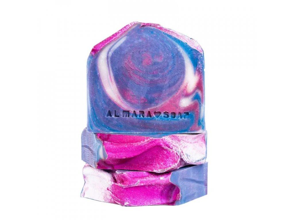 Designové ručně vyrobené mýdlo ALMARA SOAP HVĚZDNÝ PRACH
