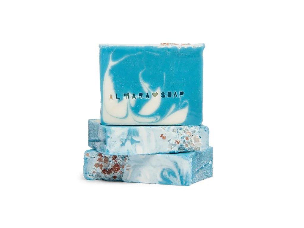 Designové ručně vyrobené mýdlo ALMARA SOAP COLD WATER