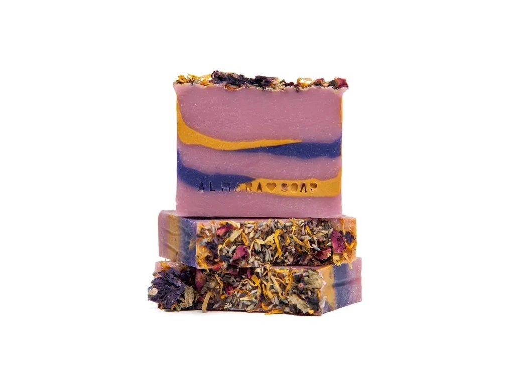 Designové ručně vyrobené mýdlo ALMARA SOAP LETNÍ ROMANCE