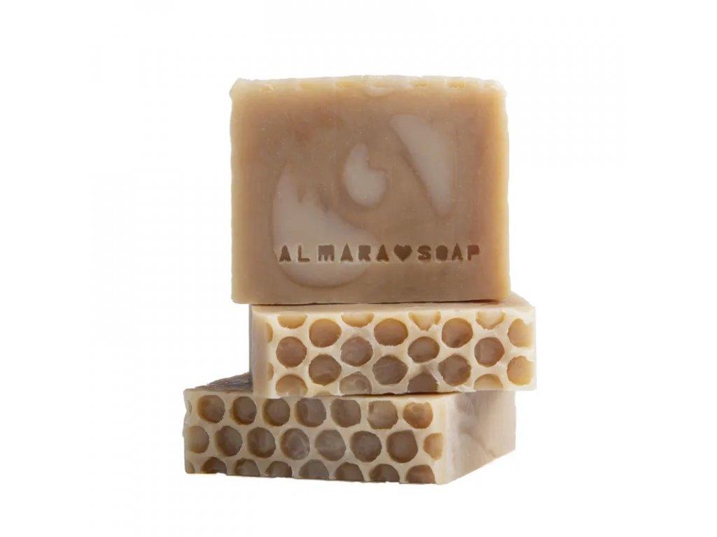 Designové ručně vyrobené mýdlo ALMARA SOAP MEDOVÝ KVĚT