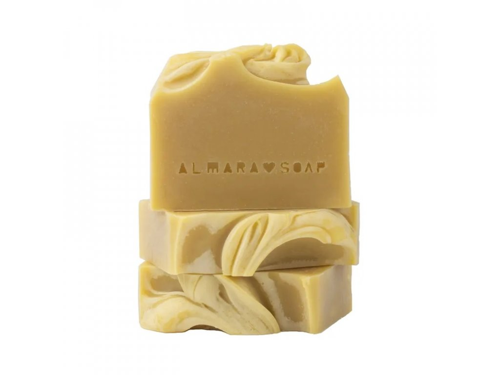 Přírodní ručně vyrobené mýdlo ALMARA CREAMY CARROT