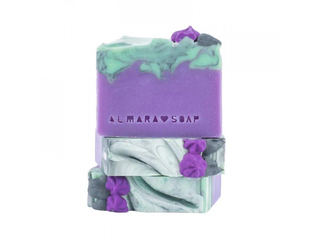 Designové ručně vyrobené mýdlo ALMARA SOAP LILAC BLOSSOM