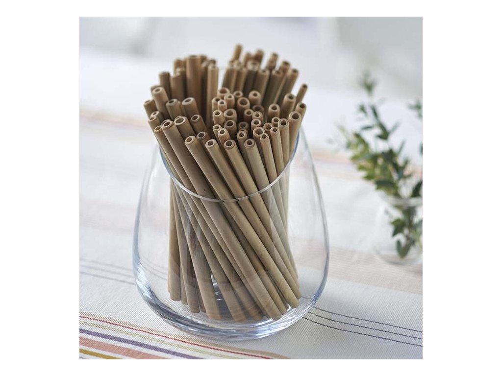 Bambusové brčko na pití BamBu