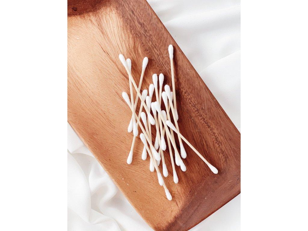 BAREAYA bambusové tyčinky na čištění uší (100 ks)