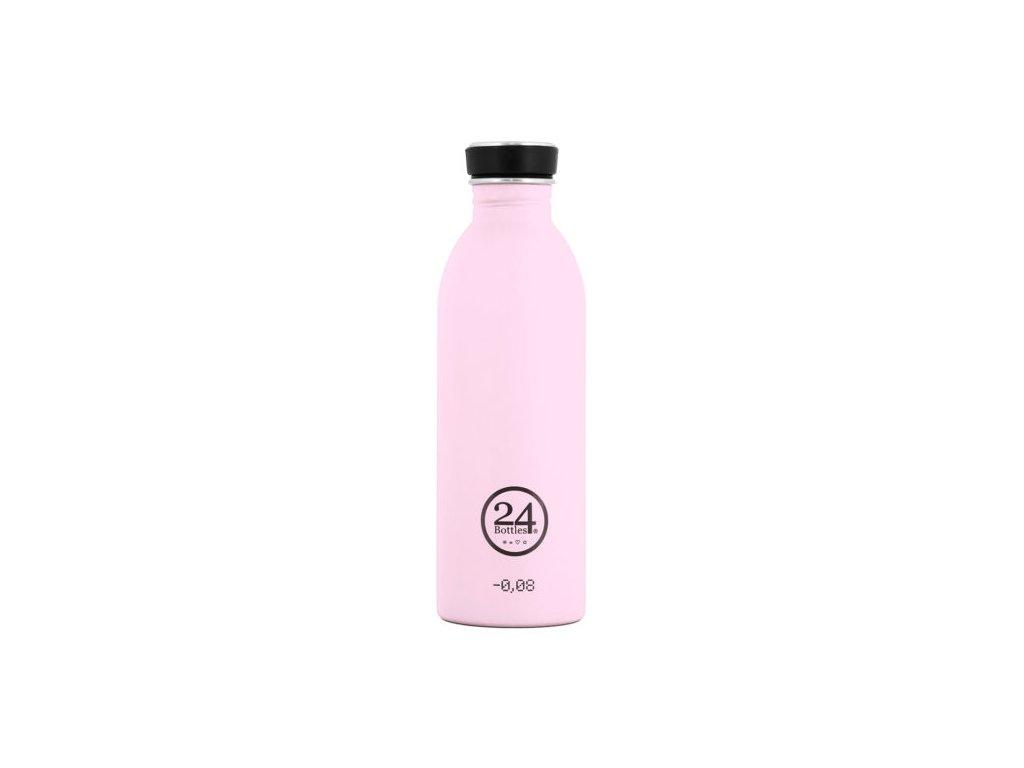 Láhev na pití 24Bottles Pastel 0,5l (Barva Candy PINK)