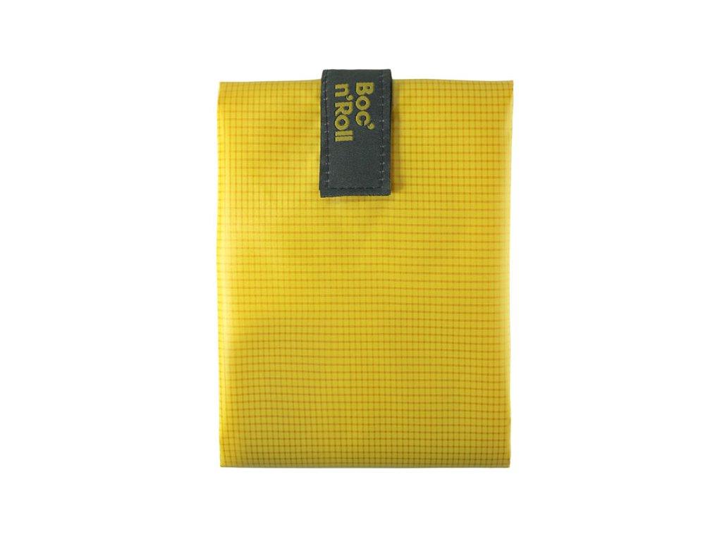 Obal na svačinu BOC´n ROLL Square (Vzor Yellow)