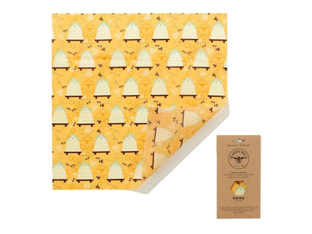 Látkové ubrousky na potraviny BeesWaxWraps Bread Wrap