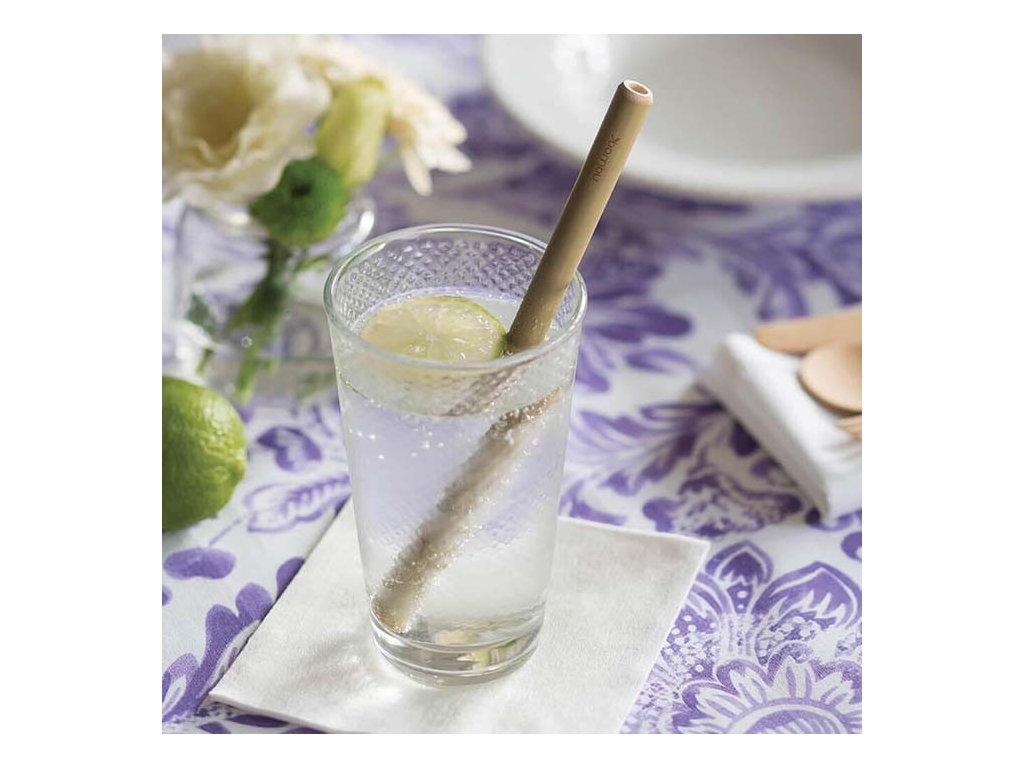 Bambusové brčko na pití BamBu (6 ks)