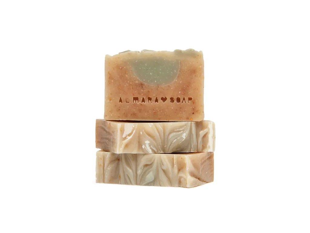 Přírodní ručně vyrobené mýdlo ALMARA SOAP LEMON TEA TREE