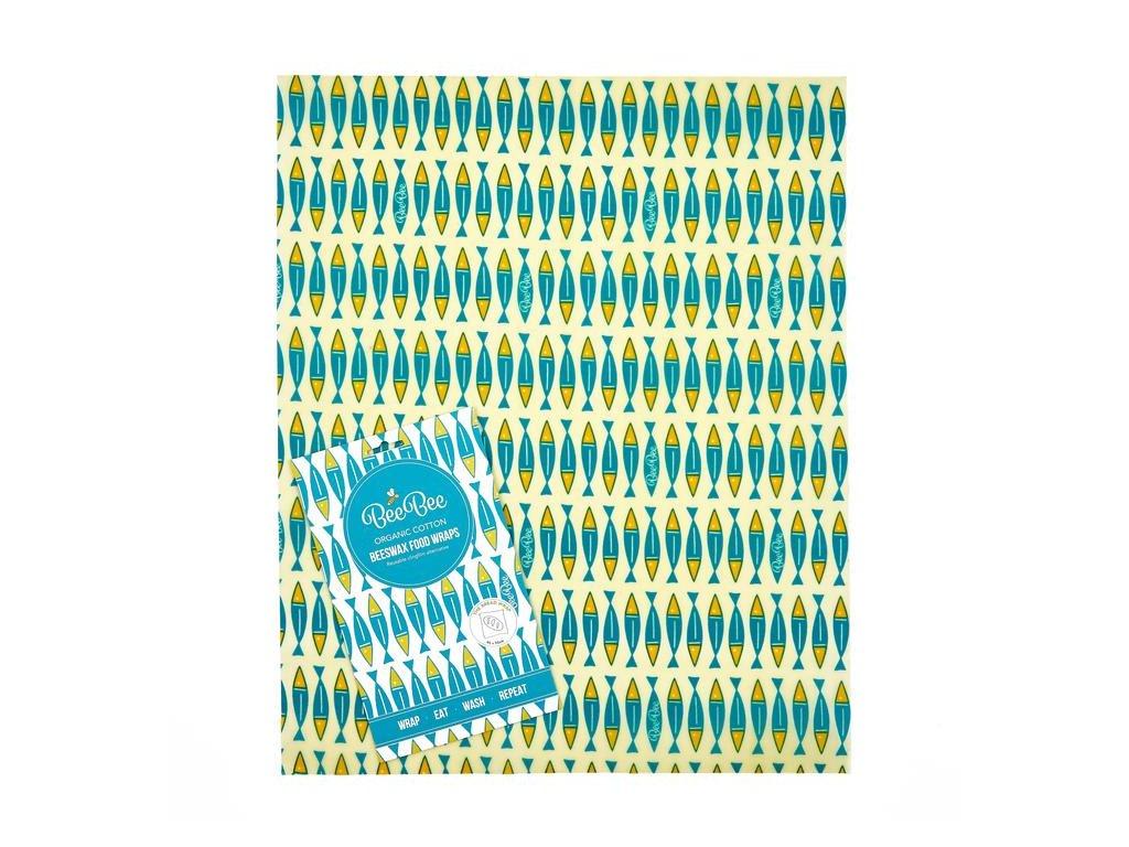 Bavlněný voskovaný ubrousek BeeBee Wrap - THE BREAD WRAP
